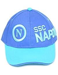 Enzo Castellano Cappello con Visiera Logo CAPPPELLINO SSC Napoli Calcio  Prodotto Ufficiale Originale a73f89b7cdd7