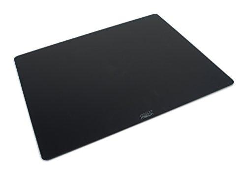 Joseph Joseph 90122 Planche/Dessous de Plat, Verre, Noir, 50 x 40 x 0,7 cm