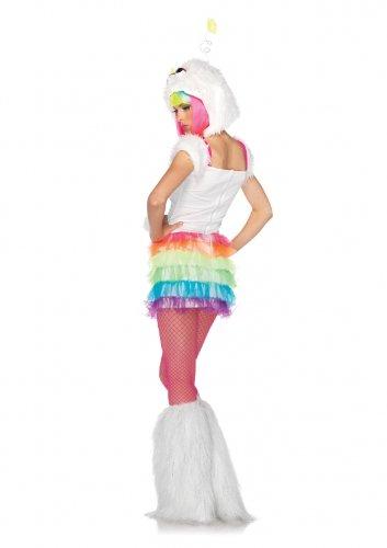 Leg Avenue 85095 - Sterne Glitzer Monster Kostüm, Größe S/M, (Kostüme Leg Monster Avenue)