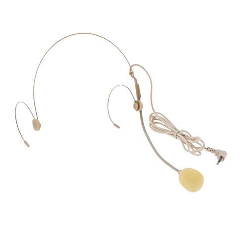 Complexional Doppio Auricolare Gancio Per L'orecchio Headset Microfono Tipo Di Flessione Spina