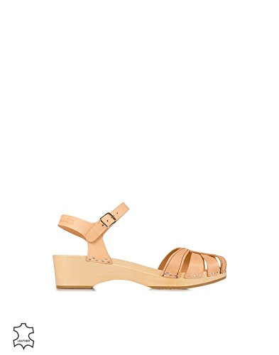 Hasbeens Womens Debutant Leather Sandals