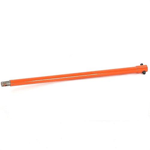 erdlochbohrer 300 mm FUXTEC Benzin Erdbohrer-Verlängerung 600 mm / 60 cm mit Schaftaufnahme 20 mm