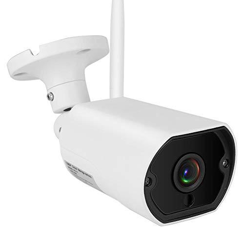 1080p HD drahtlose analoge Kamera, Überwachungskamera eingebauter Lautsprecher/Zweiwege Audio/Sprachüberwachung für Wasserdichte Pistolen mit X1 Antennen für den Innenbereich