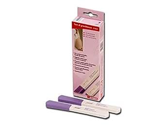 Test di gravidanza GIMA, per autocontrollo, midstream,  certificato CE, scatola da 2 test