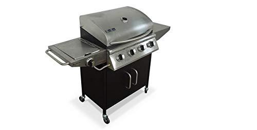 Alice's Garden - Barbecue gaz - Albert - Barbecue 4 brûleurs + 1 feu latéral INOX