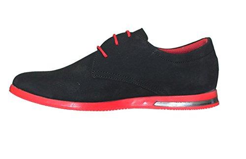 Basket noir et rouge Noir