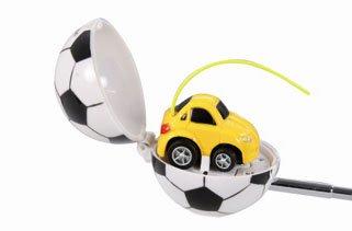 Preisvergleich Produktbild Jamara 401600 - Q-Ball - Mini Ball Car - Wahrscheinlich das kleinste ferngesteuerte Auto der Welt