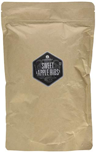 Ankerkraut Sweet Apple Ribs, 750g im aromadichten XXL-Beutel, fruchtiger BBQ-Rub für Spare-Ribs und Schwein