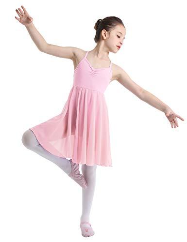 Seiltänzerin Kostüm Für Kinder - YiZYiF Mädchen Ballettanzug Ballettkleid Spaghetti Träger