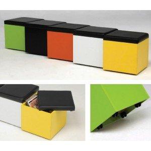 Kit Closet kubox, Madera, Naranja