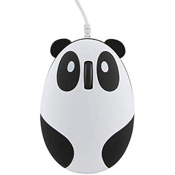Super Mignon Wired Mouse Dessin Animé En Forme De Panda