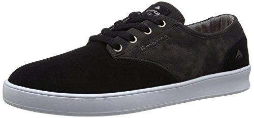 Emerica Herren the Romero Skateboardschuhe, Black/Print Gris (Black Print 358)