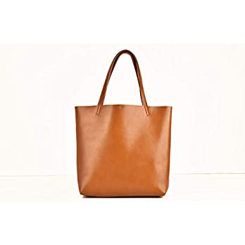 Shopping Bag Farbe Cognac