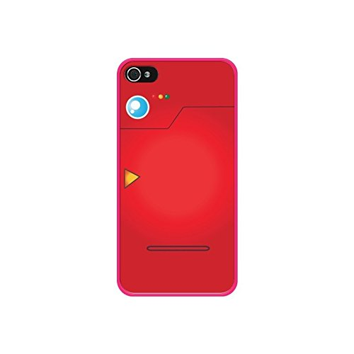 Coque Pokemon Pokedex - Nico - Modèles: iPhone 4/4S - Contour: Rose