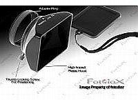 Fotodiox - Paraluce per fotocamera e videocamera digitale, 49 mm, colore: nero