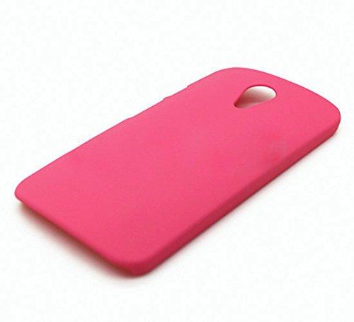 WOW Imagine Matte Hard Case Back Cover For Motorola Moto G 2nd Gen (Hot Pink)