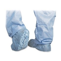 Scrub Shoe Cover, To Mens Size 12,Skid-Resistant,100/BX,BE, Sold as 1 Box