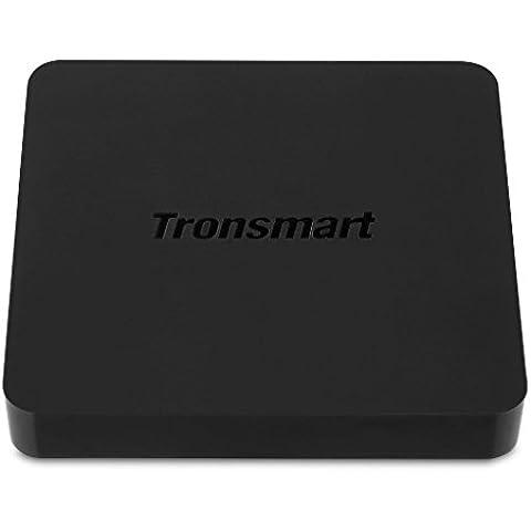 Tronsmart S95 Meta - Smart TV Android 5.1 (Quad-Core, Amlogic-S905, 2GB+8GB, Dual Wifi 2.4GHz/5.0GHz, Bluetooth 4.0, HDMI 2.0, 1000LAN, 4K, XBMC), Negro ore, Amlogic-S905, 2GB+8GB, Dual Wifi 2.4GHz/5.0GHz, Bluetooth 4.0, HDMI 2.0, 1000LAN, 4K, XBMC), Negro
