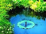 Brunnen Solar Seerose schwimmendes