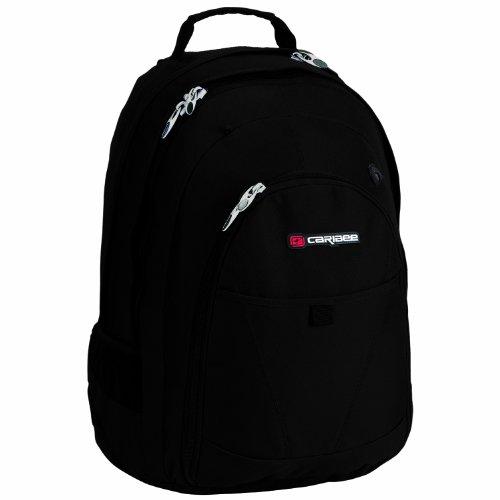 caribee-daypack-college-30-30l-rucksack-mit-17-laptopfach-farbe-schwarz