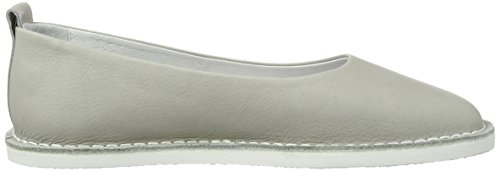 Ladies Gray Ballerina Ballerinas Closed Shoot grigio a7ndxqxCw