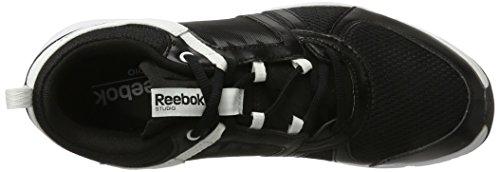 Reebok Sublite Studio Flame scarpe da corsa, basse Noir