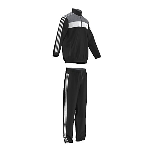 Adidas Trainingsanzug Herren Fitness Sport Freizeit Suit. Hochwertig. Stylish. Black/ White. Gr. 54