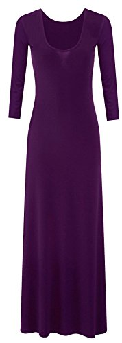 Xclusive Collection Robe à manches longues en jersey stretch Taille maxi 44–54 Multicolore - Violet