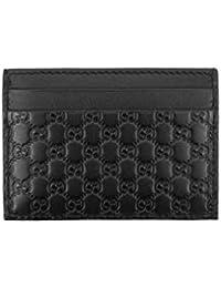 8c3b4cd0266 Gucci Microguccissima Signature Leather Card Case Wallet