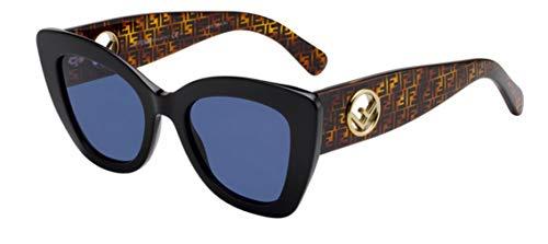 Fendi Sonnenbrillen F is FF 0327/S Black Havana/Blue Damenbrillen
