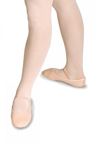 Roch Valley Ballettschläppchen aus Leder im europäischen Stil 28 Rosa