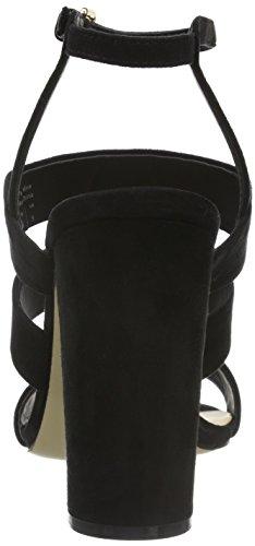 Aldo - Winfrey, Scarpe col tacco con cinturino a T Donna Nero (Schwarz (Black / 98))