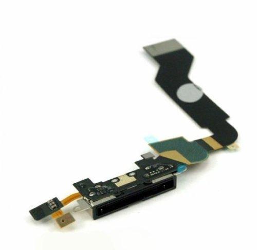 conector-del-cargador-de-datos-puerto-con-recambio-de-la-flexion-cable-para-apple-at-t-iphone-4-negr