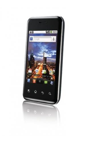 "LG Optimus Chic E720 Single SIM Black - Smartphones (8.13 cm (3.2""), 320 x 480 pixels, 0.6 GHz, Android, 2.2, Black)"