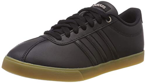 adidas Courtset, Scarpe da Tennis Donna, Nero Core Black/Footwear White 0, 38 EU