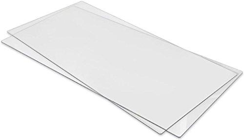 Sizzix Bigz Big Shot pro Accessory Cutting pad Extended 1 Pair, Edelstahl, Weiß, 6.0x31.1x66.0 cm -