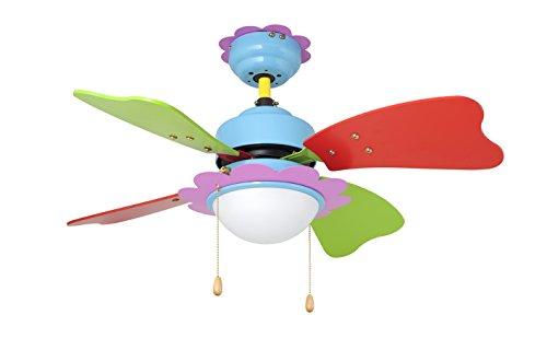 Orbegozo CC 62075 – Ventilador de techo con luz, 4 palas, potencia 50 W, 3 velocidades