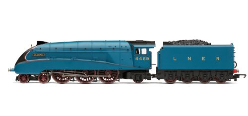 hornby-railroad-00-gauge-lner-class-a4-gadwell-with-tts-sound-steam-locomotive