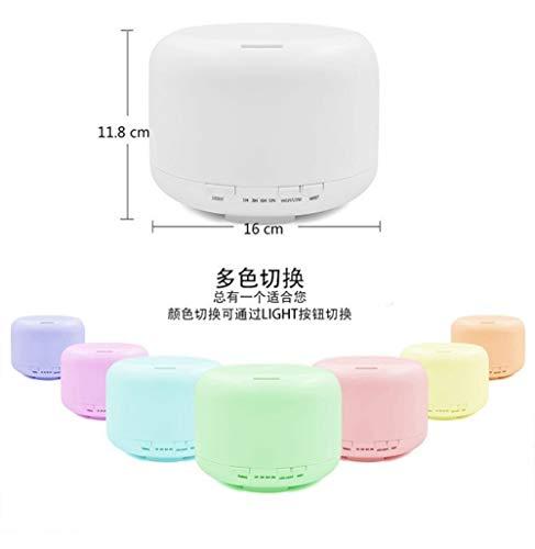 Hao-zhuokun Humidificador de Aire Mini Aroma del hogar humidificador ultrasónico 600ml...