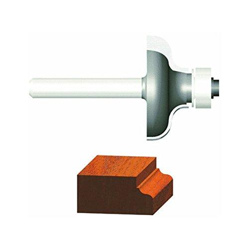 Vermont American Art 231461/4-Zoll RADIUS Hartmetallbestückt Ogee Router Bit, 1/2Kugellager 2-flute 1/4-Zoll-Schaft (Kugellager 1 4 Zoll)