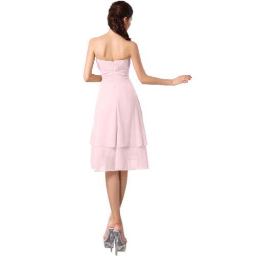 Lemandy - Robe -  Femme Custom-made Size Rose - Rose
