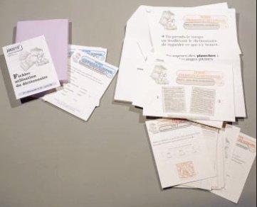 Fichier utilisation du dictionnaire, 2ème niveau par Collectif