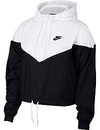 san francisco c890c 0bf98 Nike Damen W NSW Hrtg JKT Wndbrkr Jacket