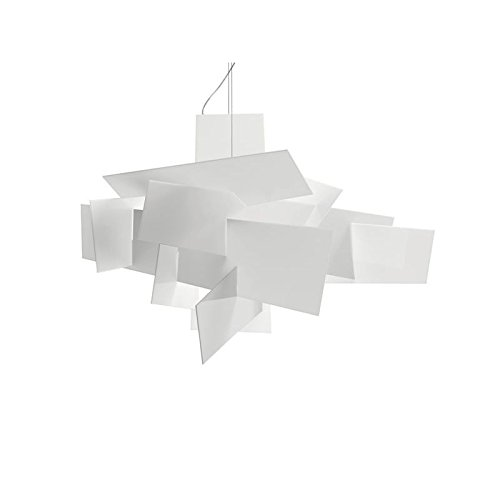 Foscarini Lampe de Suspension Foscarini Big Bang SP Halo - Blanc