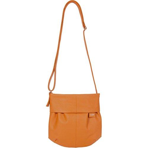 zwei Mademoiselle M5 Unhängetasche 23 cm Curry (Orange)