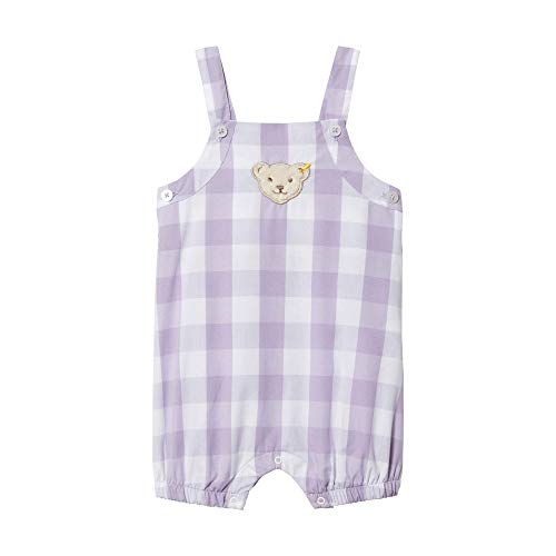 Steiff Baby-Mädchen Einteiler Spieler, Violett (Pastel Lilac 7008), 80 80 S Pastel