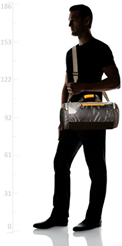 Gear Polyester 38 cms Grey Travel Duffle (DUFCRSTNG0406) Image 6