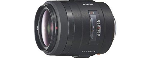 Sony SAL35F14G Obiettivo grandangolare con focale fissa 35 mm F1.4 G, Nero