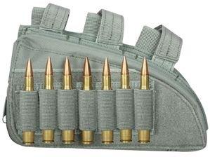 Fox Outdoor Produkte Gewehr Butt Lager Cheek Rest, Laub, 20,3x 11,4cm links