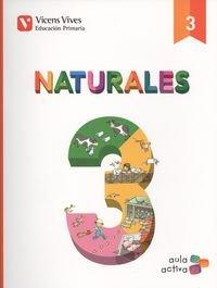 NATURALES 3 AUTO+ CAST Y LEON SEP (AULA ACTIVA) por From Editorial Vicens Vives